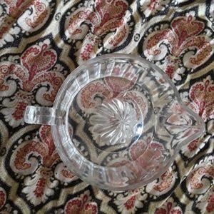 Vintage Kitchen - Vintage Glass Juice Reamer/Juicer